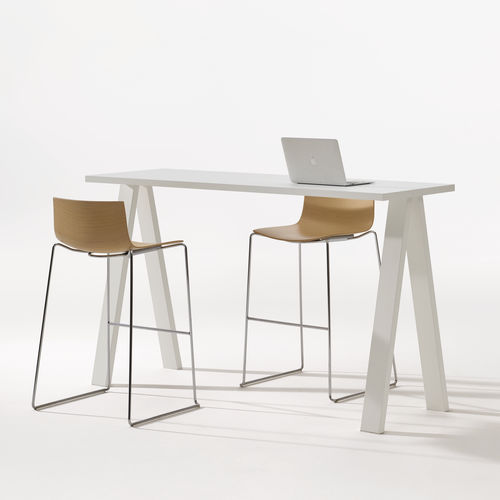 mesa alta contemporánea - Arper