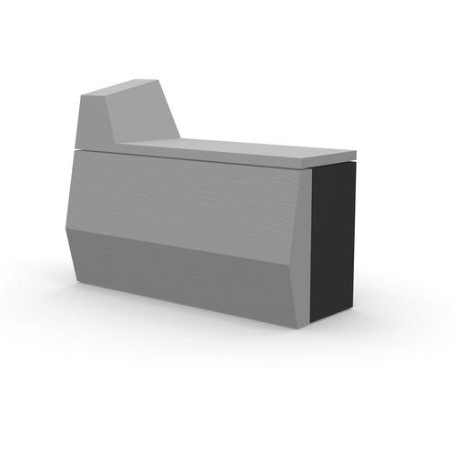 mostrador de recepción modular