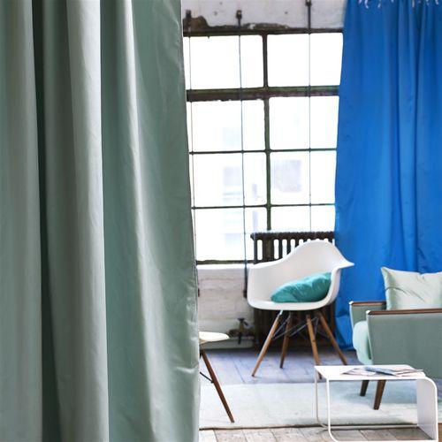 tela de tapicería / para cortinas / de color liso / de satén