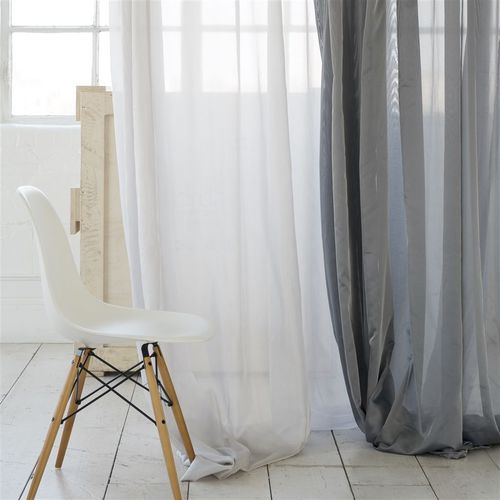 visillo de color liso / para uso residencial