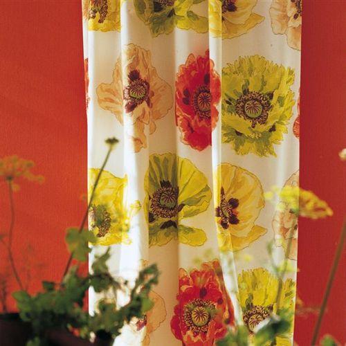 tela de tapicería / para cortinas / de rayas / de flores