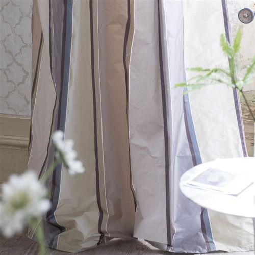 tela de tapicería / para cortinas / de rayas / de seda