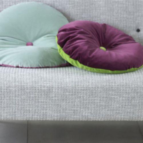 tela de tapicería / de color liso / de lino / tipo de tejido