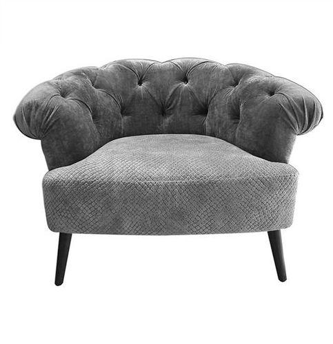 sillón Chesterfield / de terciopelo / tapizado