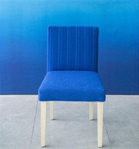 silla de comedor moderna / tapizada / de tejido