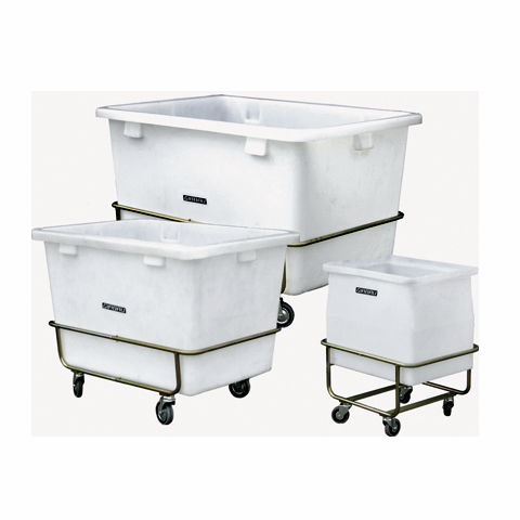 carrito de lavandería / para el sector servicios / de aluminio