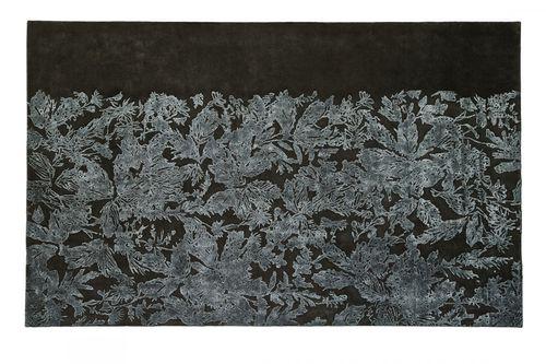 alfombra moderna / de flores / de lana / de lino