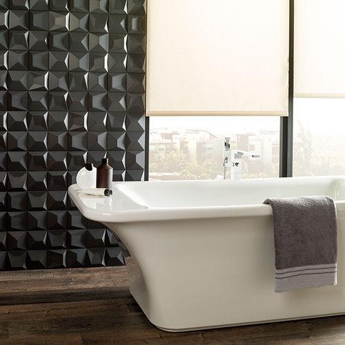 baldosa de baño / de pared / de gres porcelánico / mate