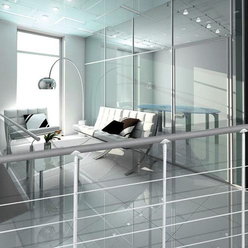 barandilla de acero inoxidable / de balaustradas / de interior / para escalera