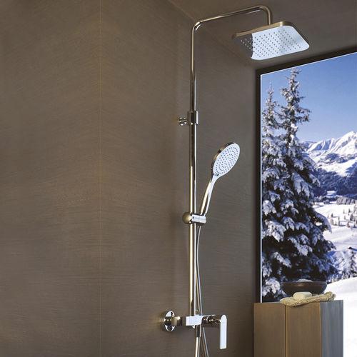 set de ducha de pared / contemporáneo / con alcachofa