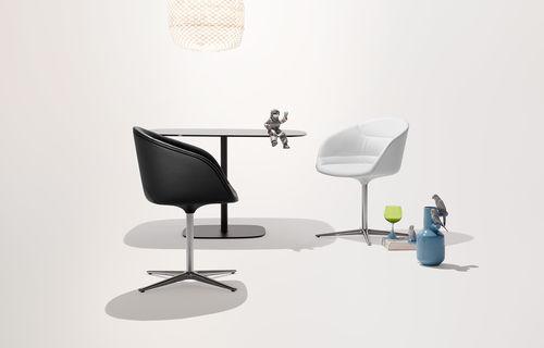 silla de visita moderna - Walter Knoll