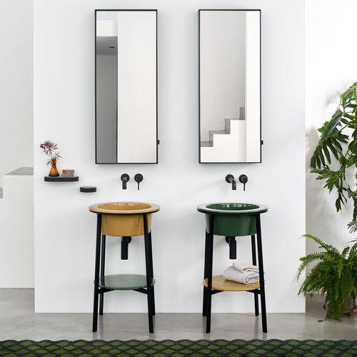 mueble de lavabo de pie - Ceramica Cielo