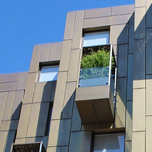 fachada ventilada de aluminio