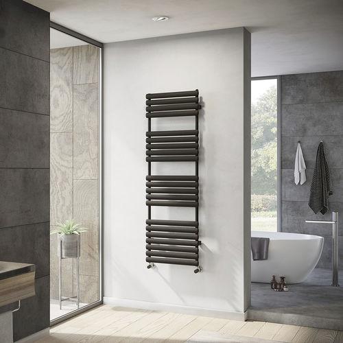 radiador toallero de agua caliente / de acero / contemporáneo / de baño