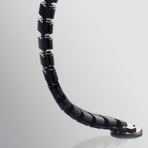canaleta de cableado de metal / para escritorio / profesional / residencial