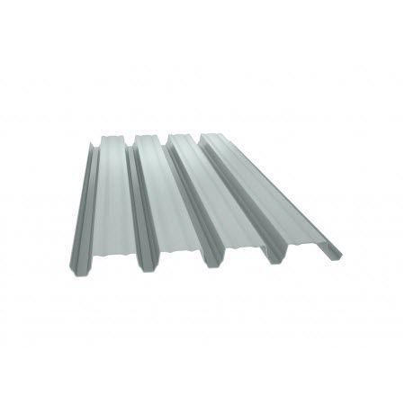 chapa acanalada / de acero / para revestimiento / para techado