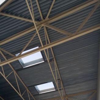 chapa acanalada / de acero galvanizado / de cubiertas