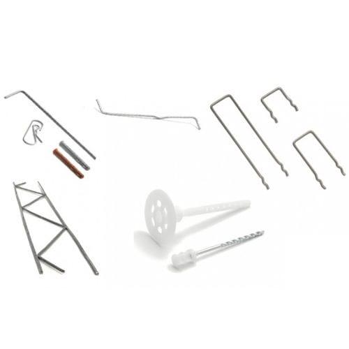sistema de fijación de acero inoxidable