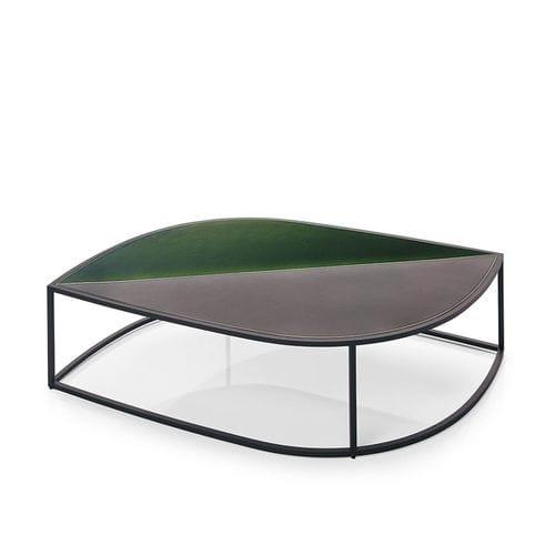 mesa de centro moderna / de acero inoxidable / de jardín / de Gordon Guillaumier
