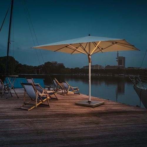 sombrilla para bar / para hotel / para restaurante / de aluminio anodizado