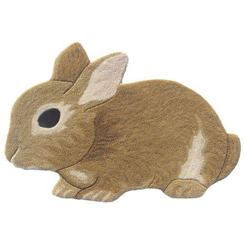 felpudo de lana / con motivos animales