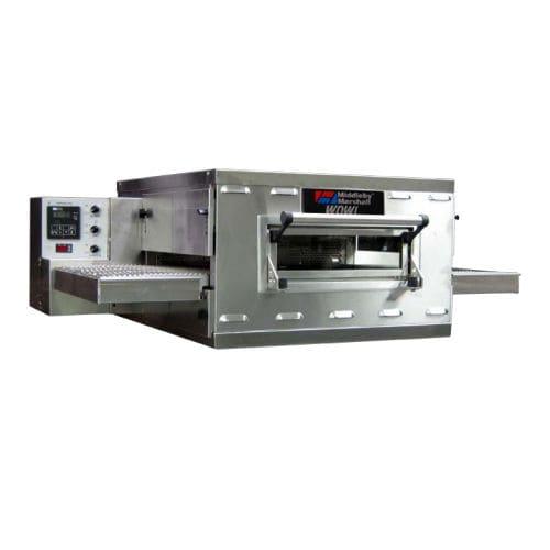 horno profesional / eléctrico / para pizzas / con transportador