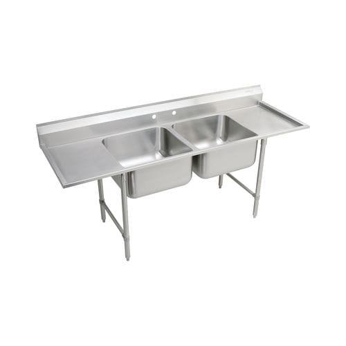 mueble para fregadero de acero inoxidable