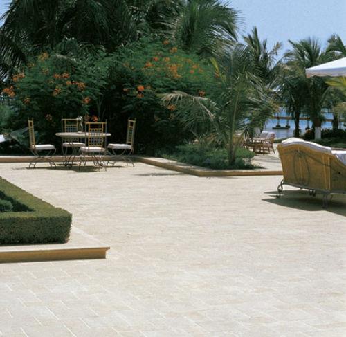baldosa de exterior / para pavimento / de gres porcelánico / rectangular