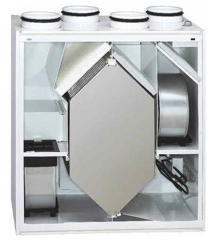 unidad de ventilación de doble flujo / centralizada / termodinámico / para apartamento