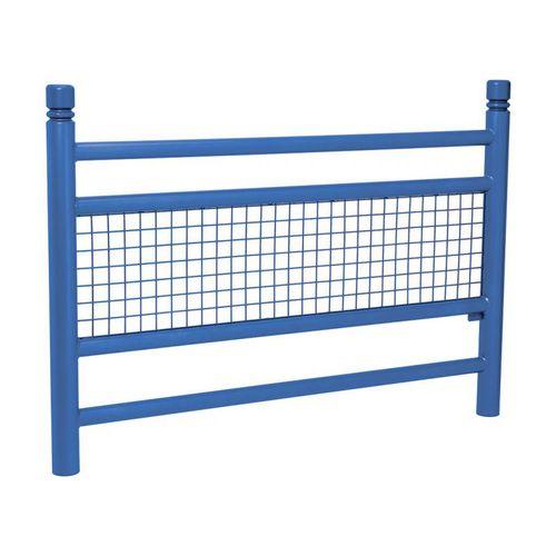 barrera de protección / fija / de acero inoxidable / de acero galvanizado