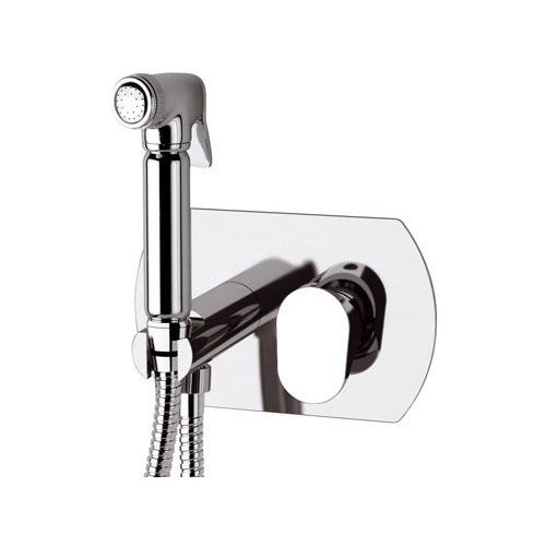 grifo monomando para ducha / de pared / de latón cromado / de baño
