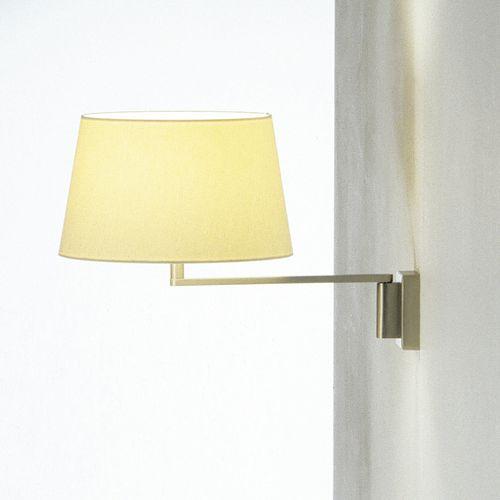 aplique contemporáneo / de metal / de lino / LED
