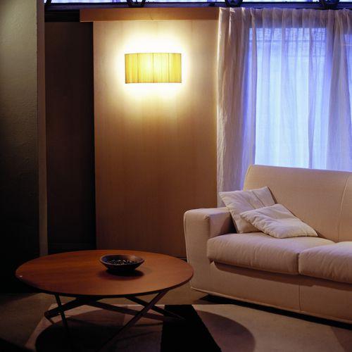 aplique contemporáneo / de metal / de tejido / LED