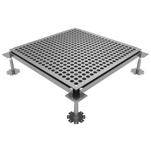 panel para suelo técnico de acero galvanizado - ACCESS FLOOR POLYGROUP