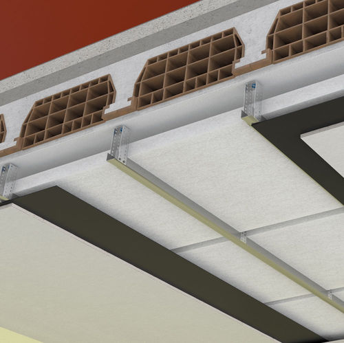 aislante acústico / de poliolefina / de pared / para techo
