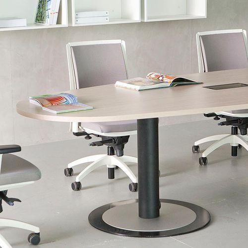 mesa de reuniones contemporánea - Fantoni
