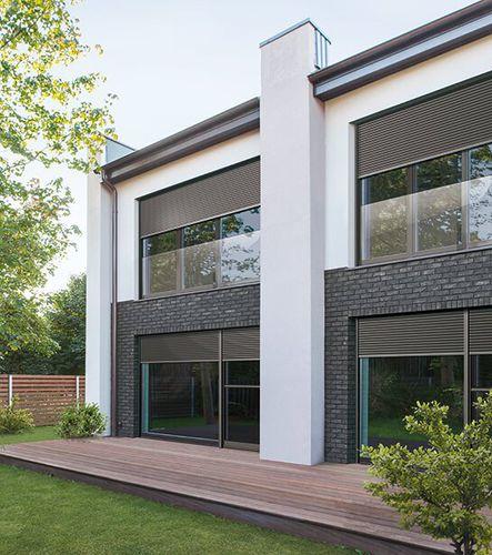 persiana exterior / de aluminio / para ventana / para puerta