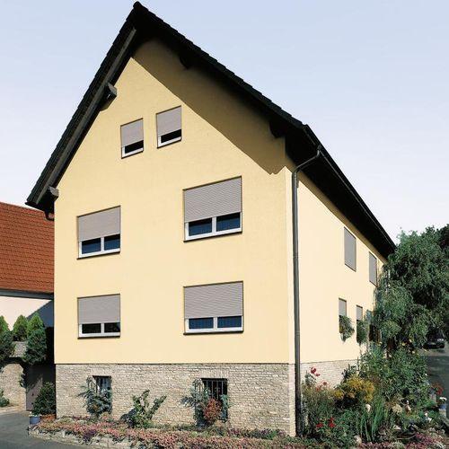 persiana exterior / de aluminio / de PVC / para ventana