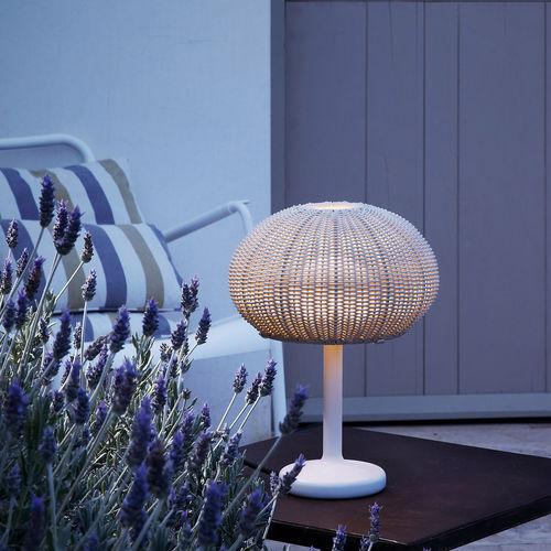 lámpara de mesa / contemporánea / de aluminio / de polietileno