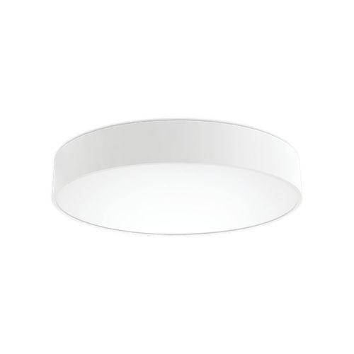 luminaria LED / redonda / de aluminio pintado / de vidrio opalescente