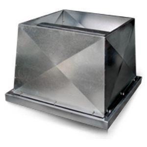ventilador-extractor axial / de cubierta / profesional / industrial