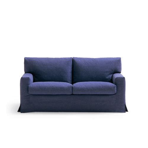 sofá cama / contemporáneo / de fibra de poliéster / 2 plazas