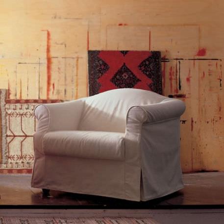 sillón clásico / de tejido / cama