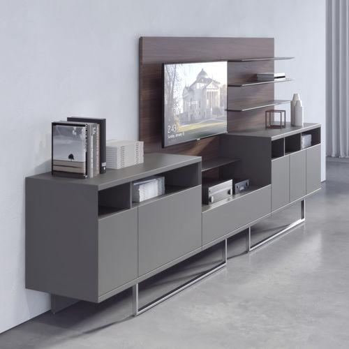 armario de oficina bajo / de chapa de madera / de metal / de vidrio