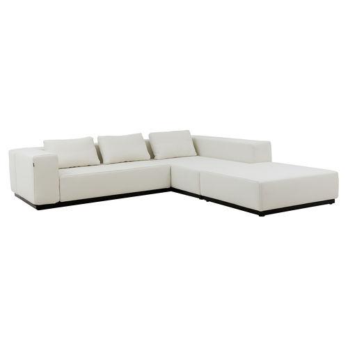 sofá modular / cama / contemporáneo / de tejido