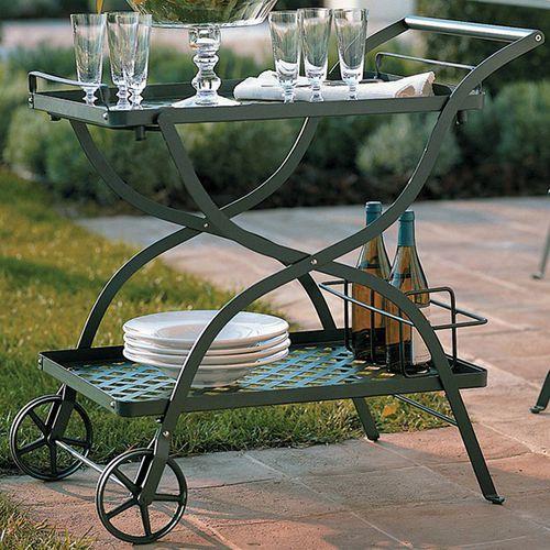 mesa carrito de jardín