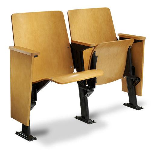 silla de auditorio plegable