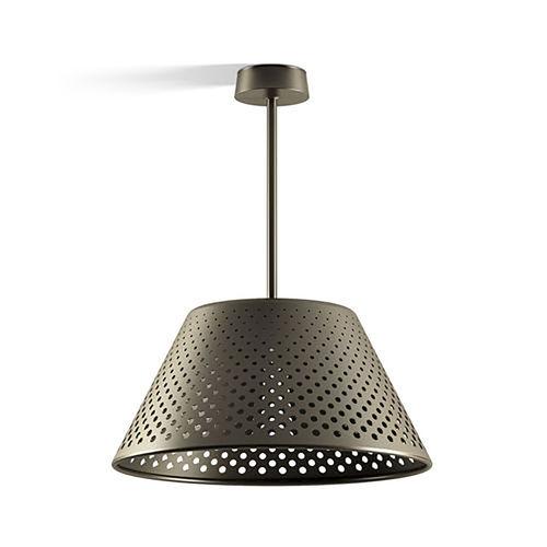 downlight suspendido / de exterior / LED / redondo