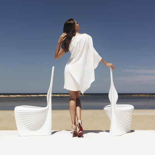 silla de jardín de diseño orgánico - VONDOM