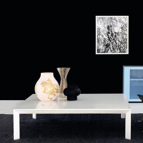 mesa de centro contemporánea / de roble / de nogal / de abedul